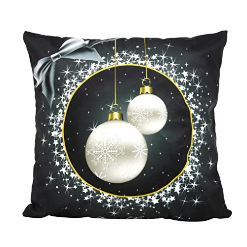 Pillow Cover Pillow Cases Christmas Decrations Home Decorative Pillow Cushion for Sofa Throw Pillow Case Cover 18x18 (Ellen D Halloween Costume)