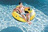Bestway Rapid Rider I 53'' Inflatable Floating Pool Raft Tube (2-Pack)