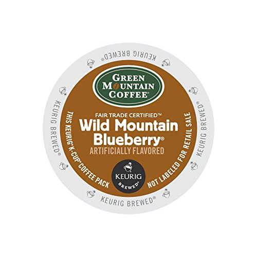 Green Mountain Wild Mountain Blueberry, 24-Count,0.33 Oz EA Net Wt. 7.9 Oz. Blue Mountain Sweet Coffee