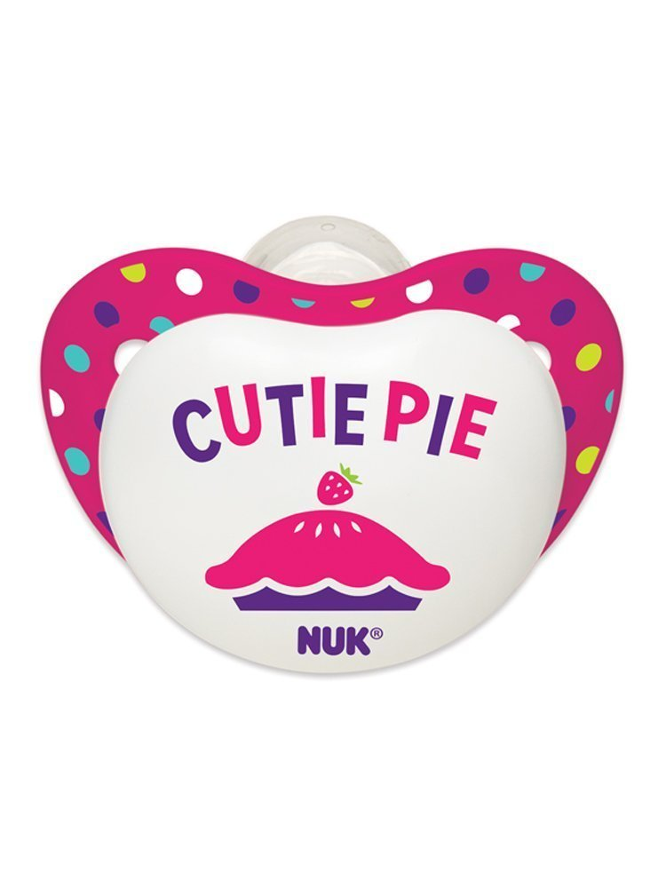 Amazon.com : Small Talk Big Button chupetes Bundle, Chica, 6-18 ...