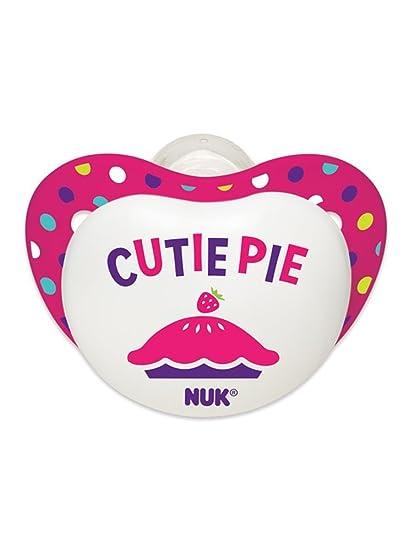 Amazon.com : Small Talk Big Button chupetes Bundle, Chica, 6-18 ...