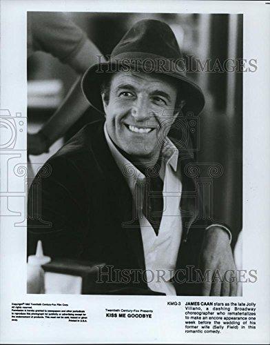 Vintage Photos Historic Images 1982 Press Photo James Caan in Kiss Me Goodbye - cvp51418-10.25 x 8 ()