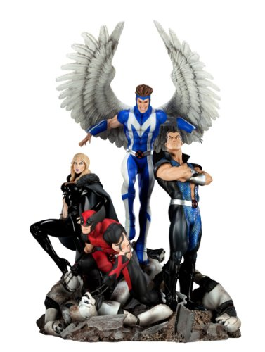 - Sideshow Collectibles - X-Men diorama 1/8 Dark X-Men 41 cm