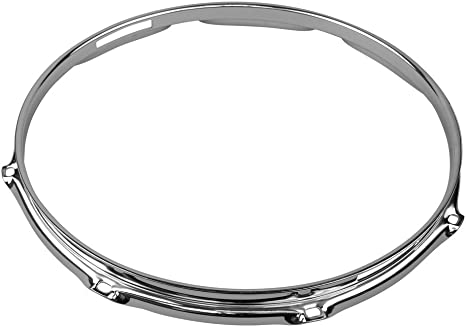 Shaw shch1408s (8 Lug caja acabado cromado tambor aro: Amazon.es: Instrumentos musicales