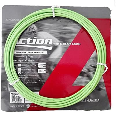 Funda para Cable de Cambio Profesional Color Verde 7.5m ASHIMA ...