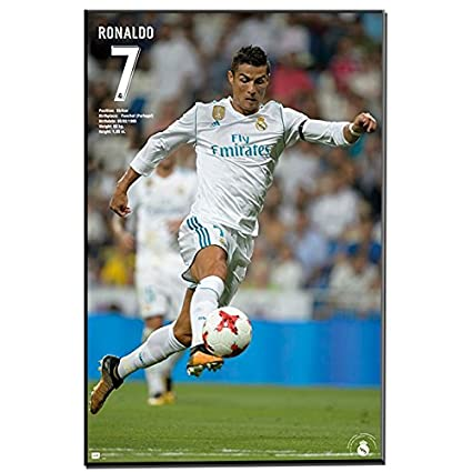 Amazon.com: Real Madrid Cristiano Ronaldo 2017-18 - Collage ...