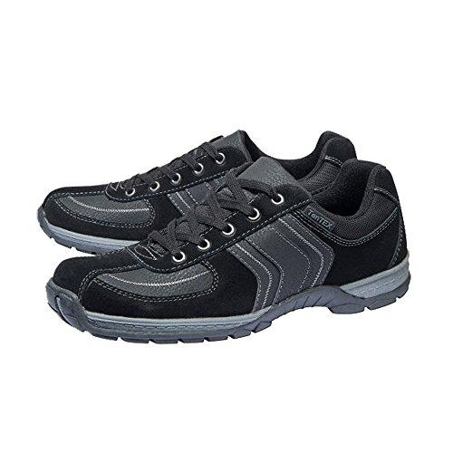 Herren Allwetter Schuhe Outdoorschuhe Schwarz Größe wählbar