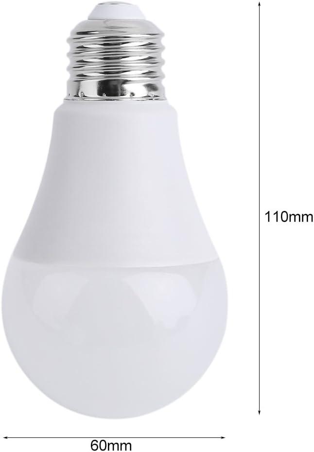 JIY 6pcs E26 A19 110V 75W LED Bulb Lamp 6500k Cool White High Brightness Light