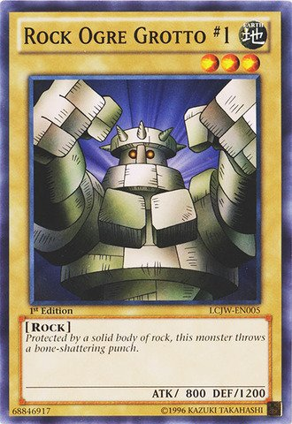 Collection Grotto (Yu-Gi-Oh! - Rock Ogre Grotto 1 (LCJW-EN005) - Legendary Collection 4: Joey's World - 1st Edition - Common)