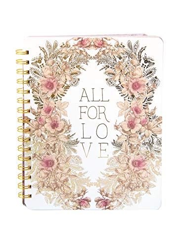 Papaya Art All For Love Spiral Notebook (NB033) ()