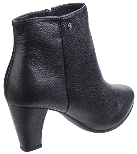 Hush Puppies Womens/Ladies Morning Meaghan Heeled Leather Ankle Boots Black