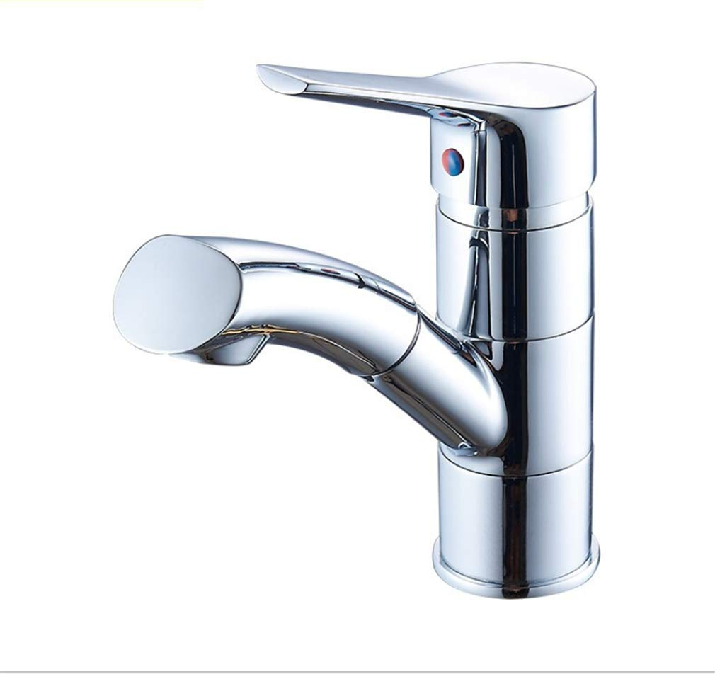 Basin Faucetall Copper Washbasin Pull Faucet Hot and Cold Kitchen Kitchen Faucet Can Be redated.