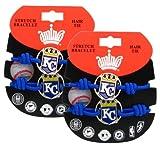 Kansas City Royals - MLB Stretch Bracelets / Hair Ties (2 - Pack)