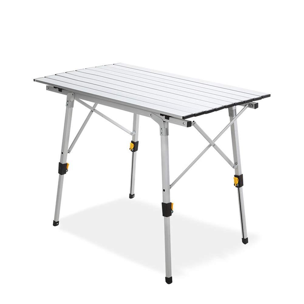 Table Pliante, Camping en Plein air à la Mode, Barbecue Portable Ultra léger en Alliage d'aluminium  -