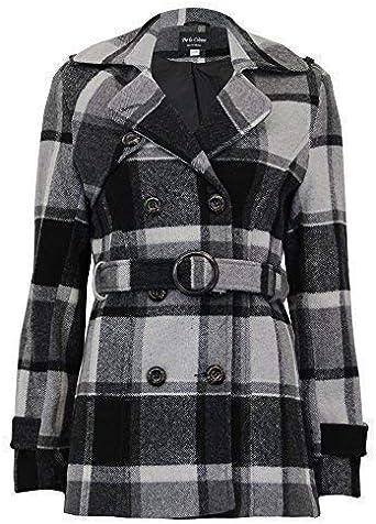 femmes' La Veste manteau tendance Crème qMzSUpV