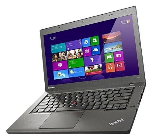2017 Lenovo Thinkpad T440 Ultrabook, 14 Inch Display, Intel Core 4th Gen i5-4300U 1.9GHz, 8GB RAM, 500GB, 720p Camera, USB 3.0, WiFi, Windows 10 Professional (Certified Refurbished)