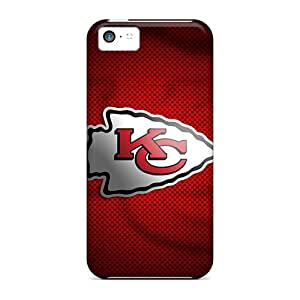 Protective Tpu Case With Fashion Design For Iphone 5c (kansas City Chiefs)