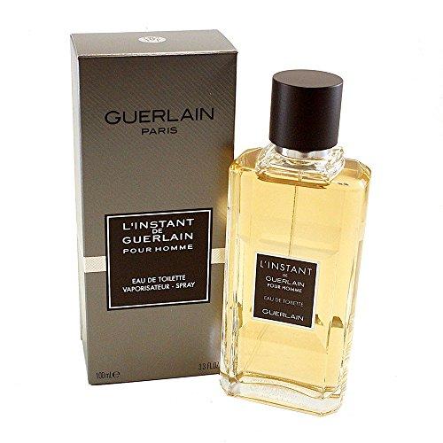 Guerlain L'instant Pour Homme Eau de Toilette Spray, 3.3 Ounce (Pour Linstant Homme De Guerlain)