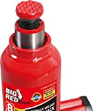 BIG RED T90803B Torin Hydraulic Welded Bottle Jack, 8 Ton (16,000 lb) Capacity