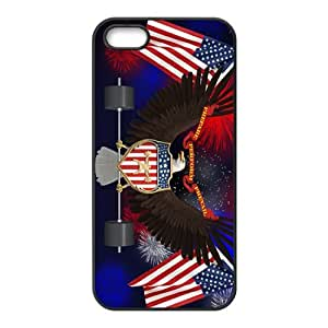 US flag and eagle sign Cell Phone Case for iPhone 5S
