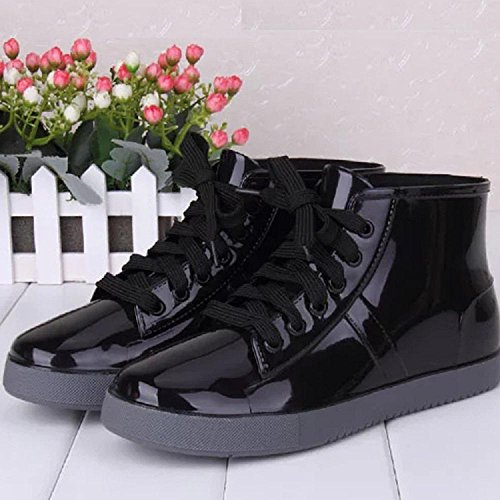 rain 3cm ladies fashion Korean high boots 36 Alger 11 wt7aPxqWC