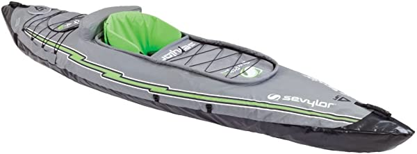 One Person Ultralight Blow-Up/Pump-Up Kayak <span>for fishing, hunting or touring</span> [Sevylor] Picture