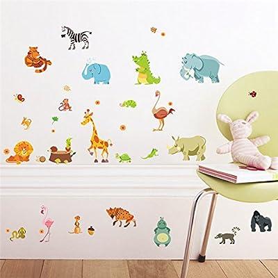 Amazon.com: cotowin pared pegatinas para Niños Habitaciones ...