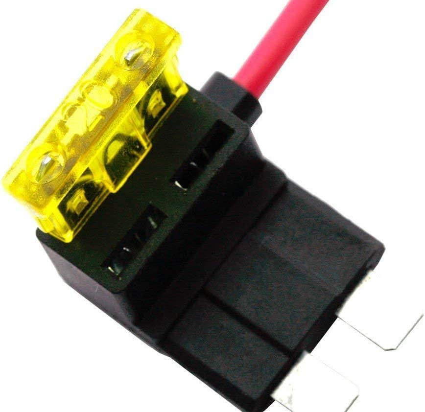 4tlg Autosicherungen Stromdieb Stromabgreifer Stecksicherung Steck Sicherung Verteiler Anschlußkabel Auto