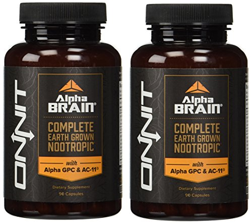 Onnit Labs Alpha Brain Count
