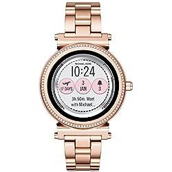 Amazon.com: Michael Kors MKT5022 - Reloj de pantalla táctil ...