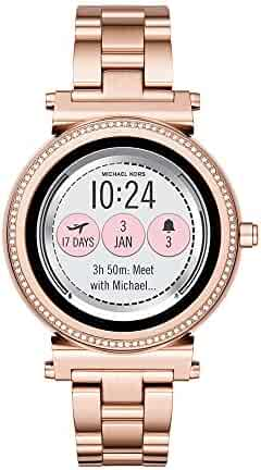 Michael Kors Access, Women's Smartwatch, Sofie Rose Gold-Tone Stainless Steel, MKT5022