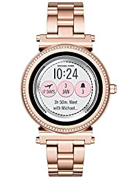 Access, Women's Smartwatch, Sofie Rose Gold-Tone Stainless Steel, MKT5022