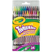 Crayola 24 Twistables Coloured Pencils