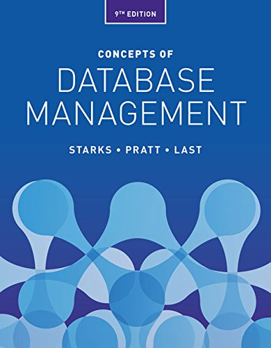 MindTap Computing for Starks/Pratt/Last's Concepts of Database Management, 9th Edition , 1 term (6 months) [Online Code] by Cengage Learning