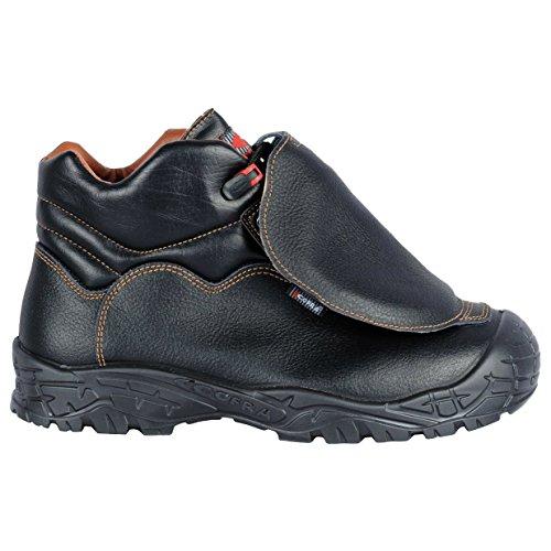 Cofra 22021-000.W45 Cover Uk S3 M SRC Chaussure de sécurité Taille 45 Noir