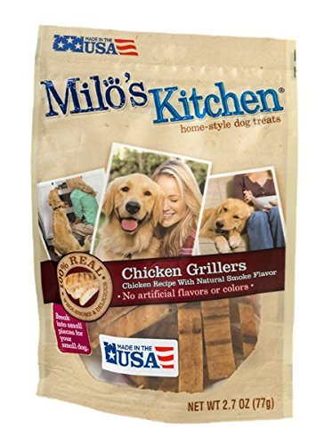 Milos Kitchen Chicken Grillers Treats product image