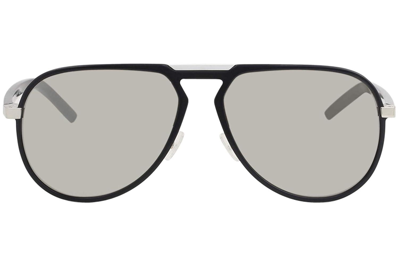 7204703adc93a Amazon.com  Dior Homme AL13.2 AL 13.2 10G SS Matte Black Pilot Aluminum  Sunglasses 59mm  Dior  Clothing