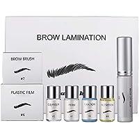Beauty Brows Kit Eyebrow Lamination Kit Eyebrow Lifting Styling Kit Perming Eyebrow for Home Use
