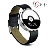 MOREFINE Bluetooth Smart Watch Fitness Activity Tracker Outdoor 1.22'' Sport Bracelet Waterproof Wristband with Heart Rate Monitor Pedometer for Android IOS Women Men Health Gift