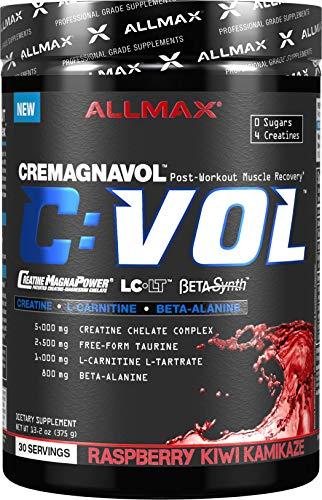 ALLMAX Nutrition CVOL, Post-Workout Muscle-Recovery Complex, Raspberry Kiwi Kamikaze, 375g