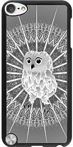 Funda para Ipod Touch 5 - Búho Y Animales Mandala Gris by Nina Baydur