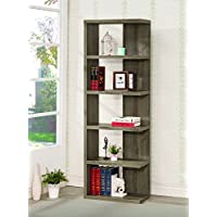 Coaster 800553 Home Furnishings Bookcase, Weathered Grey