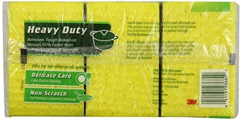 051131936829 - Scotch-Brite Heavy Duty Scrub Sponge 9-Count carousel main 1