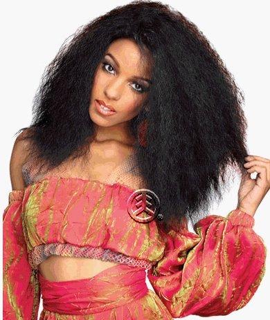 (Zury Q Lace Weave Natural Human Hair Blend 16