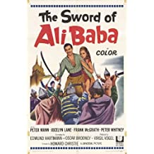 The Sword of Ali Baba Poster 27x40 Peter Mann Jocelyn Lane Frank McGrath