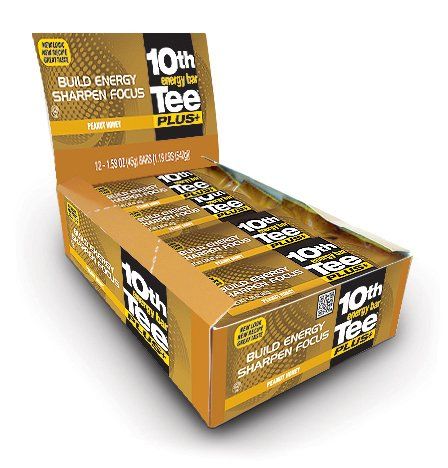 10th Tee Plus+ Peanut Honey Bars