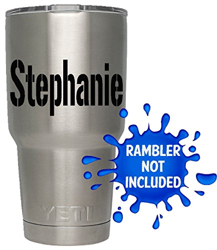 Review Personalized Name Decal /