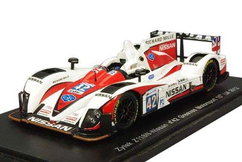 Spark 1/43 ザイテック Z11SN 日産 グリーブスモータースポーツ 2012 ルマン24H #42 A.ブランドル/M.ブランドル/L.オルドネス 完成品 B00B3MMHU0