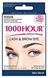 1000 Hour Eyelash & Brow Dye / Tint Kit Permanent Mascara (Blue-Black)