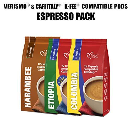 CAFFITALY CBTL Kfee compatible con cápsulas de café italiano ...